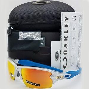 Oakley Sunglasses Sports Silver w/Prizm Ruby Lens